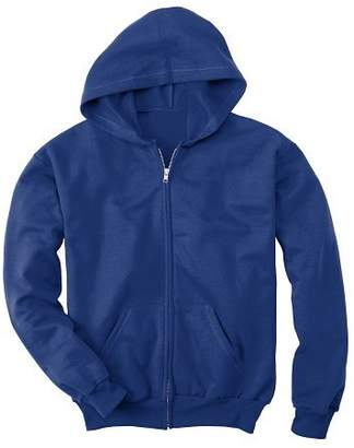 Hanes Youth 7.8 oz. ComfortBlend EcoSmart 50/50 Full-Zip Hood, M