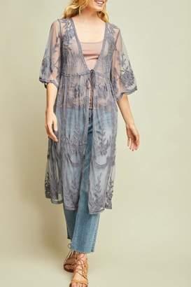 LuLu*s LuLu's Boutique Lace Mesh Kimono