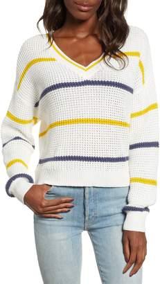 BP Stripe Cotton Thermal Sweater