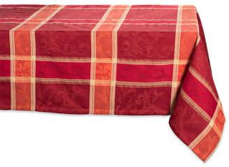 Design Imports Harvest Wheat Jacquard Tablecloth