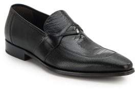 Mezlan Embossed Leather Loafers