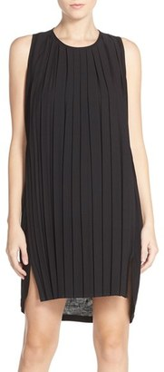 French Connection 'Polly' Pleated Shift Dress $88 thestylecure.com