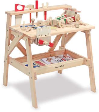 Melissa & Doug Kids' Play Wooden Project Workbench