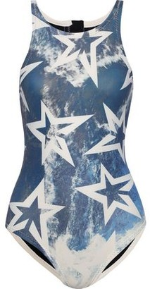 Perfect Moment Printed Neoprene Swimsuit