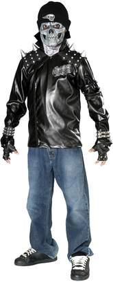 Rubie's Costume Co Rubie's Costumes Kids Metal Skull Biker Costume