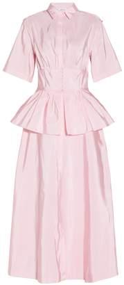 Rosie Assoulin Bugle Boy Trench Dress