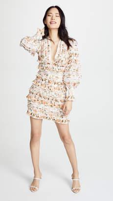 Zimmermann Radiate Smocked Mini Dress