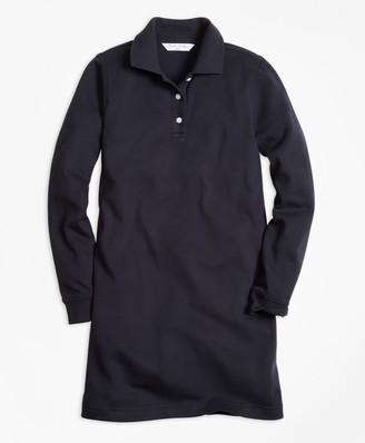 Brooks Brothers Girls Long-Sleeve Polo Dress