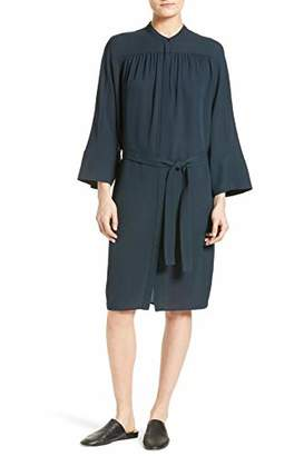 Vince Women's Shirred Shirt Dress