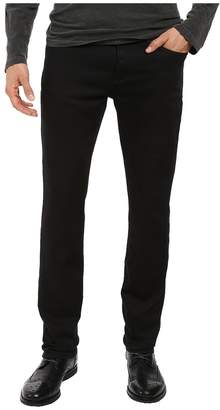 John Varvatos Bowery Jeans Zip Fly in Black J306S3B Men's Jeans