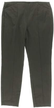 Alfani Womens Skinny Comfort Waist Ankle Pants Green 12