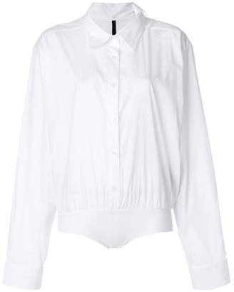 Unravel Project elasticated waist shirt