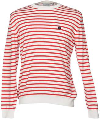 Mens Red And White Striped Sweater - ShopStyle Australia 2659204fc