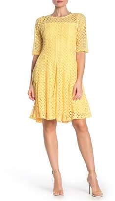 Rabbit Rabbit Rabbit Crochet Fit & Flare Dress