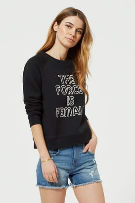 Rebecca Minkoff Force Is Female Sweatshirt