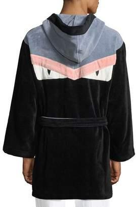 Fendi Monster Hooded Robe