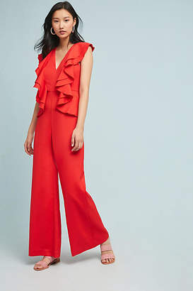 Cameo Louise Ruffled Wide-Leg Jumpsuit