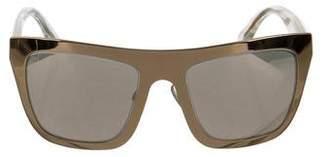 Dolce & Gabbana Gold Edition Reflective Sunglasses