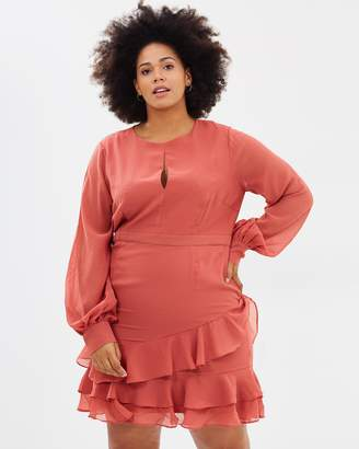 Cooper St CS CURVY Briar Rose Long Sleeve Dress