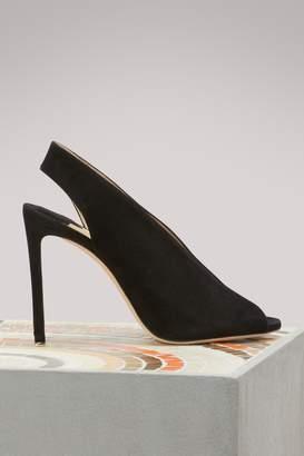 Jimmy Choo Shar 100 slingback sandals