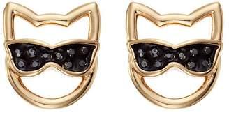 Karl Lagerfeld Paris Choupette in Sunglasses Stud Earrings