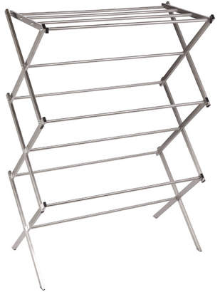 Household Essentials Stainless Steel Folding X-Frame Clothes Dryer