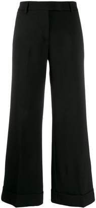 Quelle2 .turn up flared trousers