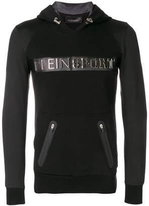 Plein Sport slim fit logo hoodie