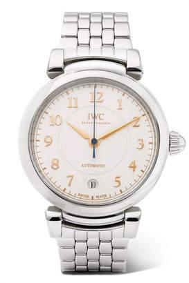 IWC SCHAFFHAUSEN - Da Vinci Automatic 36mm Stainless Steel Watch - Silver