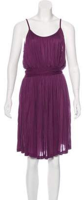 Tomas Maier Sleeveless Pleated Dress