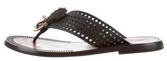 Valentino Tribal Thong Sandals