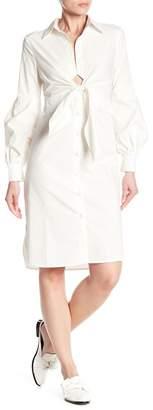 Beulah Long Bishop Sleeve Dress