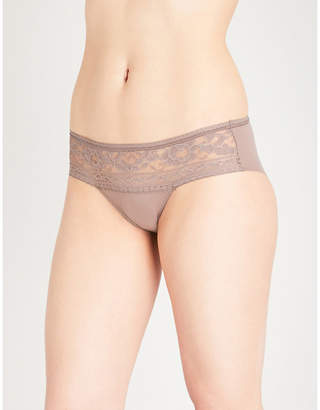 Wacoal Eternal stretch-lace and microfibre briefs