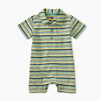 Tea Collection Striped Polo Romper