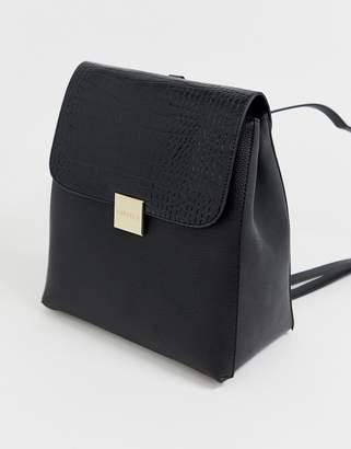 Carvela Flick moc croc backpack
