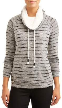 No Comment Women's Ultra Cozy Sherpa Sweatshirt
