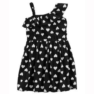 Carter's Sleeveless Hearts A-Line Dress - Preschool Girls