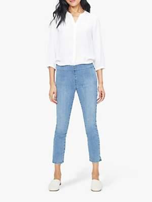 NYDJ Skinny Ankle Pull-On Jeans, Aquino