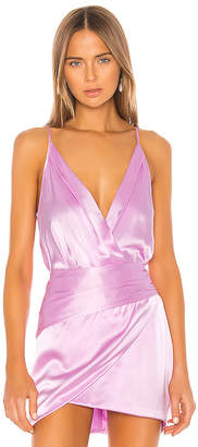 Mason by Michelle Mason Cami Wrap Bodysuit