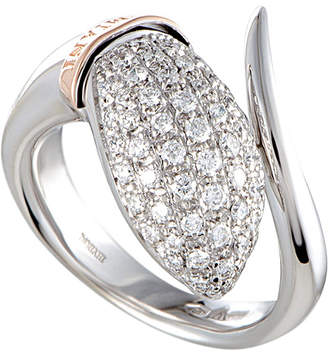 Damiani 18K Two-Tone 0.60 Ct. Tw. Diamond Ring