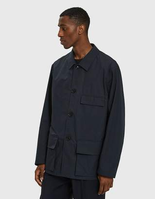 Lemaire Three Pocket Jacket in Midnight Blue