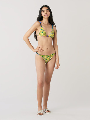Diane von Furstenberg Halle Triangle Bikini Bottom