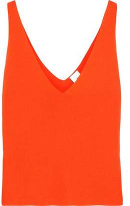 Free Shipping 2018 For Sale Cheap Online Iris & Ink Woman Jamie Stretch-knit Tank Bright Orange Size M IRIS & INK Outlet Low Shipping Clearance Shop GJv2FBr