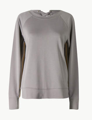 Marks and Spencer Quick Dry Feature Back Sweatshirt