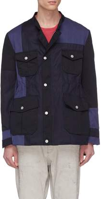 Coach Children of the discordance Colourblock patchwork twill jacket