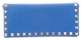 Valentino Leather Rockstud Wallet
