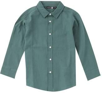 boohoo Boys Soft Touch Long Sleeve Shirt