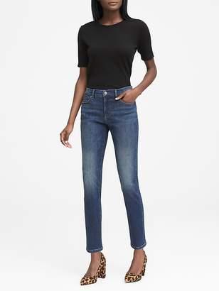 Banana Republic Slim Straight Dark Wash Jean
