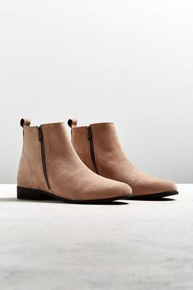 Urban Outfitters Double-Zip Suede Chelsea Boot