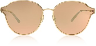 Bottega Veneta BV0156SK Unisex Metal Sunglasses